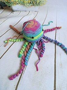Hračky - chobotnica farebna - 8866053_