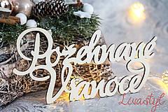 Dekorácie - Požehnané Vianoce - 8866809_