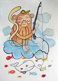 Grafika - Monkey - 8863987_