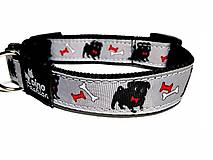 Pre zvieratká - Obojok Black Dog - 8866477_
