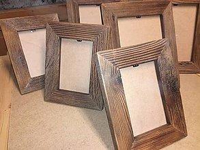 Rámiky - Rámik na fotky so starého dreva - 8865218_