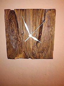 Hodiny - Hodiny so starého dreva - 8865231_