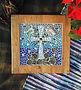 Dekorácie - Anjeli pri kríži   - 8865564_