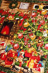 """Dekorácie - Adventný kalendár """"Stromček pri krbe"""" - 8866676_"""