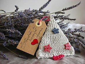 Dekorácie - Vianočný stromček (Modrá) - 8866476_
