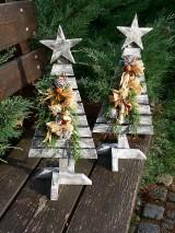 Dekorácie - Vianočný dekoračný stromček - 8863813_
