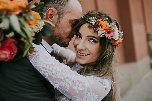 """Svadobný venček """" o šťastí"""""""