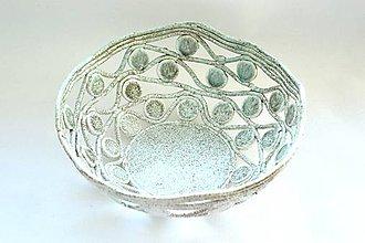 Nádoby - Jemná keramická misa - 8863400_
