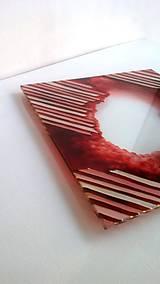 - Podnos sklenený na sviečku PURPUR - 8864853_