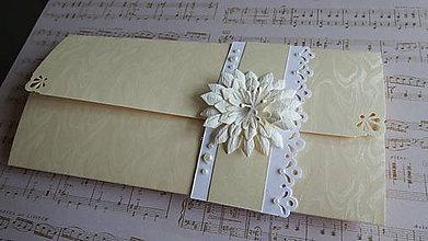 Papiernictvo - Vanilkový kvet - 8862835_