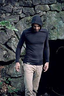 Mikiny - Termo tričko s kapucňou - 8864350_