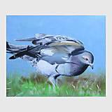 Obrazy - Předtucha - olejomalba na plátně - 8864128_
