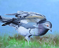 Obrazy - Předtucha - olejomalba na plátně - 8864133_