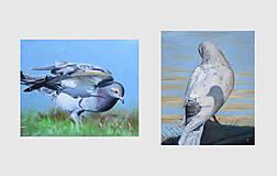 Obrazy - Předtucha - olejomalba na plátně - 8864134_
