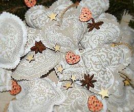 Dekorácie - Vidiecke Vianoce ** Provensálske Vianoce - 8872029_