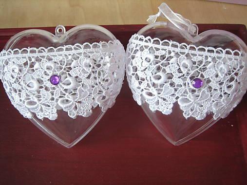 ecc6bebabb Vianočné srdce velké 10cm   jamilla - SAShE.sk - Handmade Dekorácie