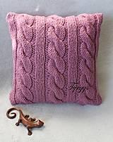 Úžitkový textil - Vankúš  (Tyrkysová tmavá) - 8870051_