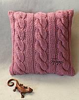 Úžitkový textil - Vankúš  (Tyrkysová tmavá) - 8870052_