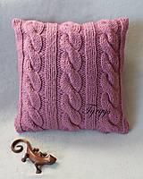 Úžitkový textil - Vankúš  (Tyrkysová tmavá) - 8870053_