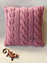 Úžitkový textil - Vankúš  (Tyrkysová tmavá) - 8870058_