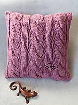 Úžitkový textil - Vankúš  (Tyrkysová tmavá) - 8870059_