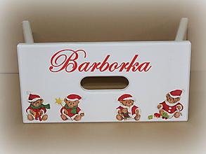 Nábytok - Šamlík xxl- Macko vianočný DOPREDAJ - 8872243_