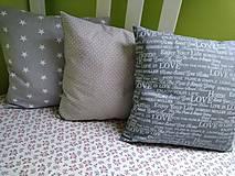 Úžitkový textil - Obliečky šedé - 8873641_