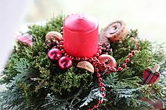 Dekorácie - Vianočný aranžmán - 8869009_