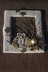 Dekorácie - vianočná ozdoba na stenu - 8871883_