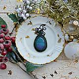 Náhrdelníky - Achátový n.8 šitý náhrdelník - 8868084_