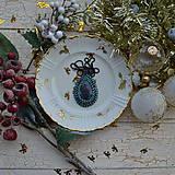 Náhrdelníky - Jaspisový n.4 - šitý náhrdelník - 8869229_