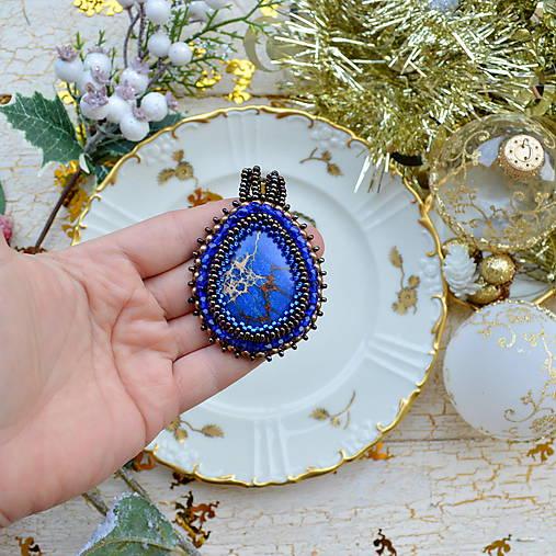 Jaspisový n.3 - šitý náhrdelník
