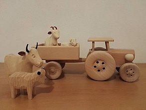 Hračky - Traktor s vlečkou - 8869583_