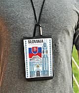 Na mobil - Univerzálne púzdro na mobil Slovensko modrý kostol - 8873772_