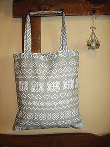 Nákupné tašky - Nákupná taška - Sivé Čičmany - 8868871_