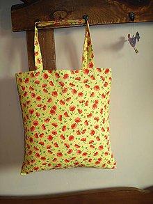Nákupné tašky - Jarná nákupná taška - 8869137_
