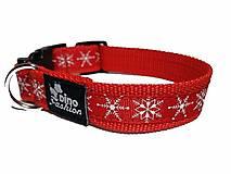 Pre zvieratká - Vianočný obojok - 8871552_
