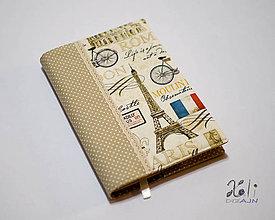 Papiernictvo - Obal na knihu - Paríž, Londýn, Rím II. - 8872319_