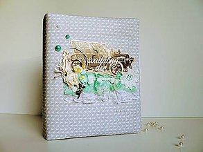 Papiernictvo - Svadobný fotoalbum - Veterán - 8873096_