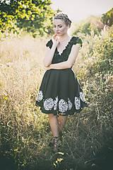 - Kátke maľované šaty Slavianka - 8868517_