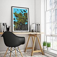Obrazy - REYKJAVÍK, elegantný, čierny - 8872993_