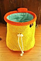 Iné tašky - vrecko na magnezium (Žltá) - 8869140_