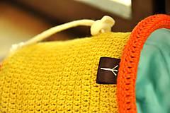Iné tašky - vrecko na magnezium (Žltá) - 8869141_