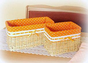 Košíky - Košík mandarinka 2 - 8872377_