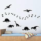 Nálepky na stenu - Dinosaury