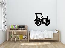 Nálepky na stenu - Traktor