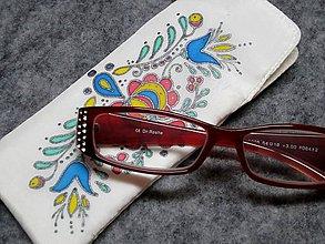Taštičky - Puzdro na okuliare Ornament I. - 8876318_