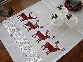 Úžitkový textil - Vianočná štóla - 8877961_