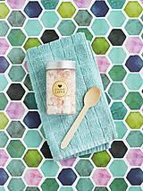 Návody a literatúra - Himalájska soľ do kúpeľa - tvorivý balíček s návodom - 8877847_
