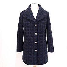 Kabáty - Vlnený kabát KOSOŠTVORČEKY II - 8878945_